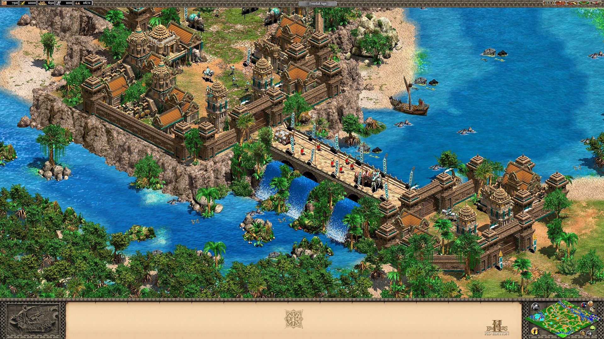 Age of Empires II HD: Rise of the Rajas (2016) PC | Лицензия