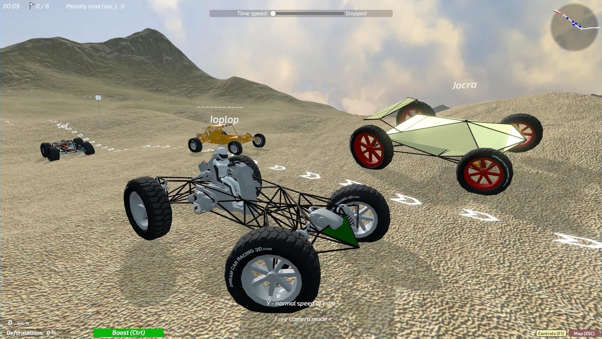 Dream Car Racing Sandbox