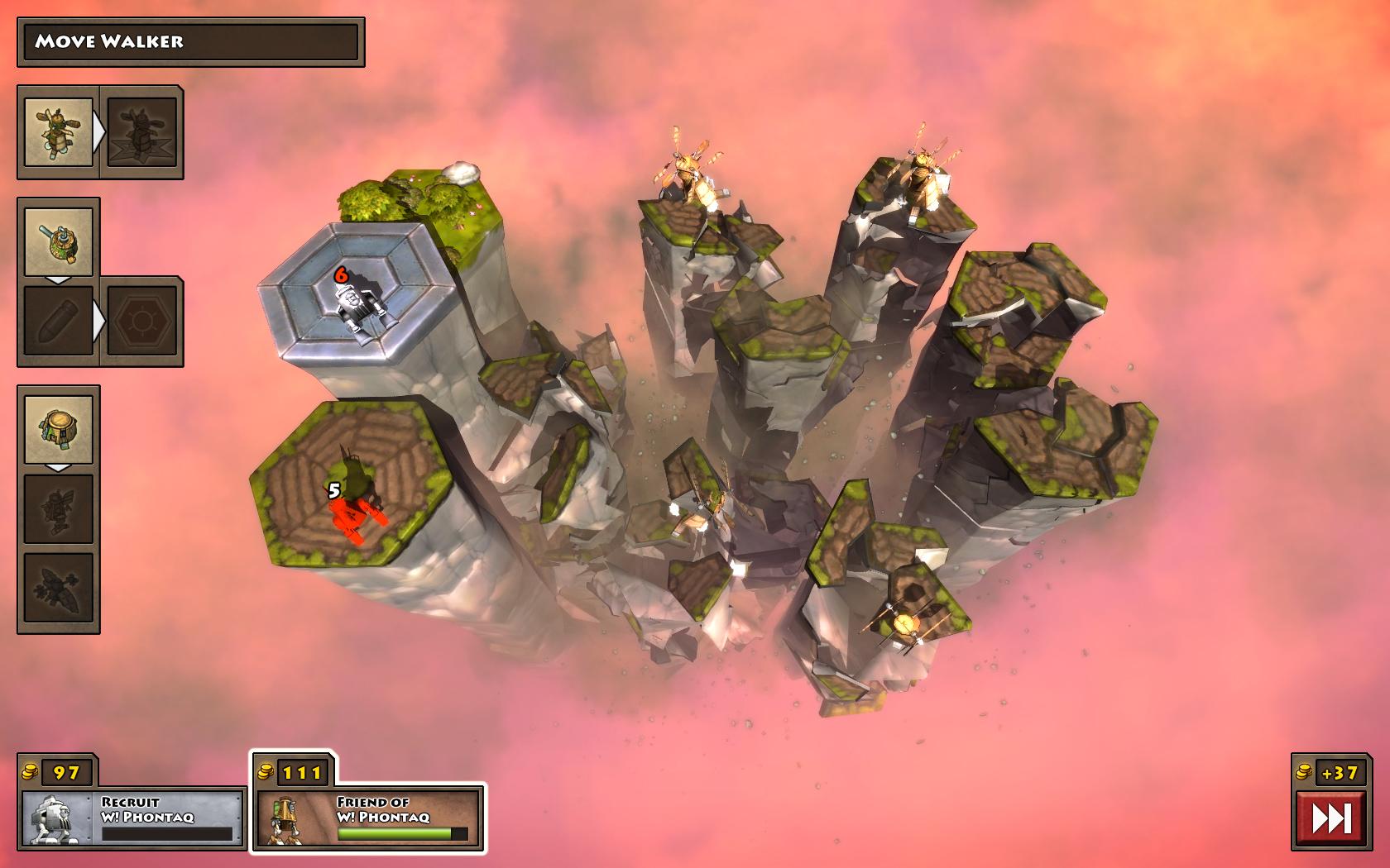 Greed Corp screenshot