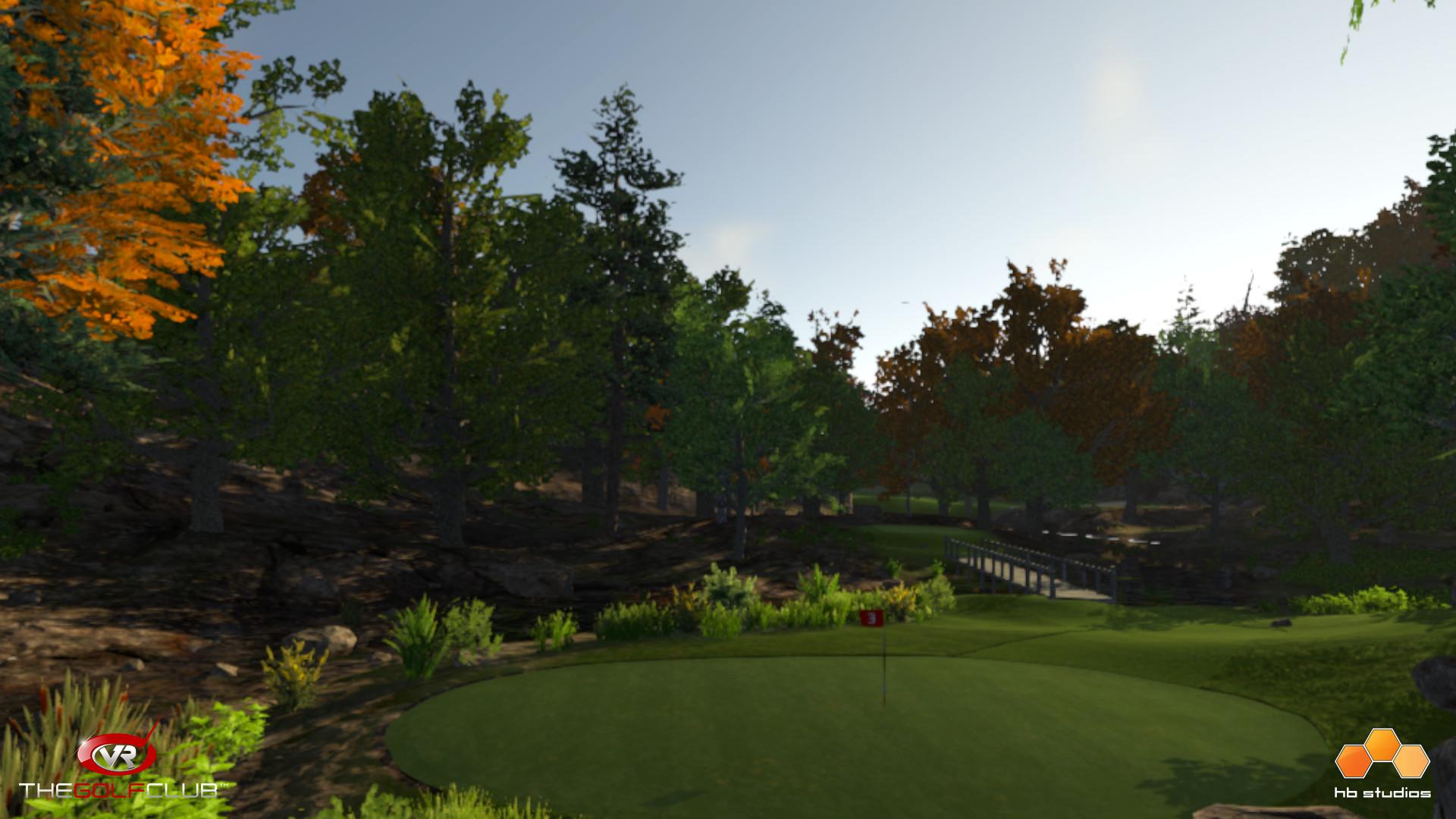 VRゲーム、The Golf Club VR、ゲームイメージ