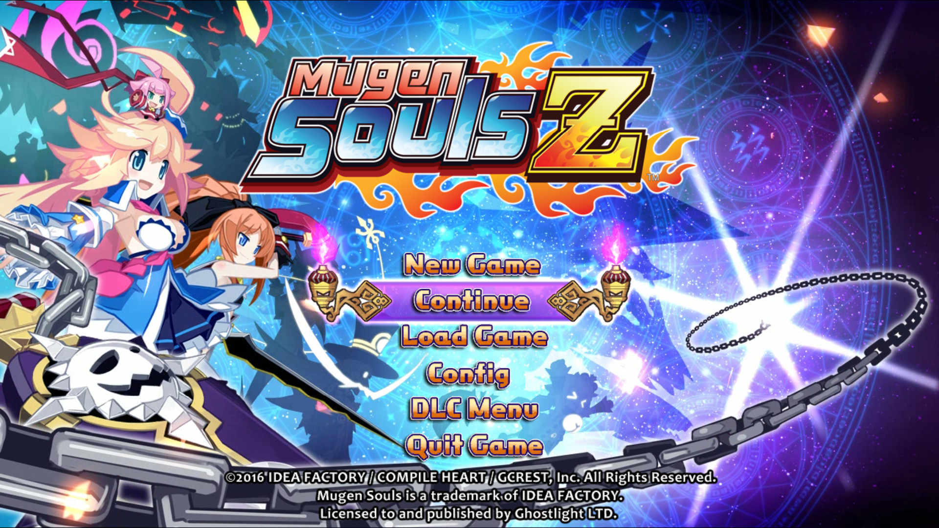 Mugen Souls Z - Character Clothing Bundle screenshot