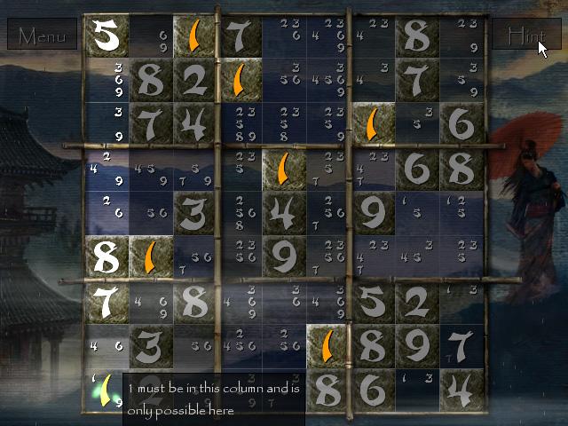 Zen of Sudoku screenshot