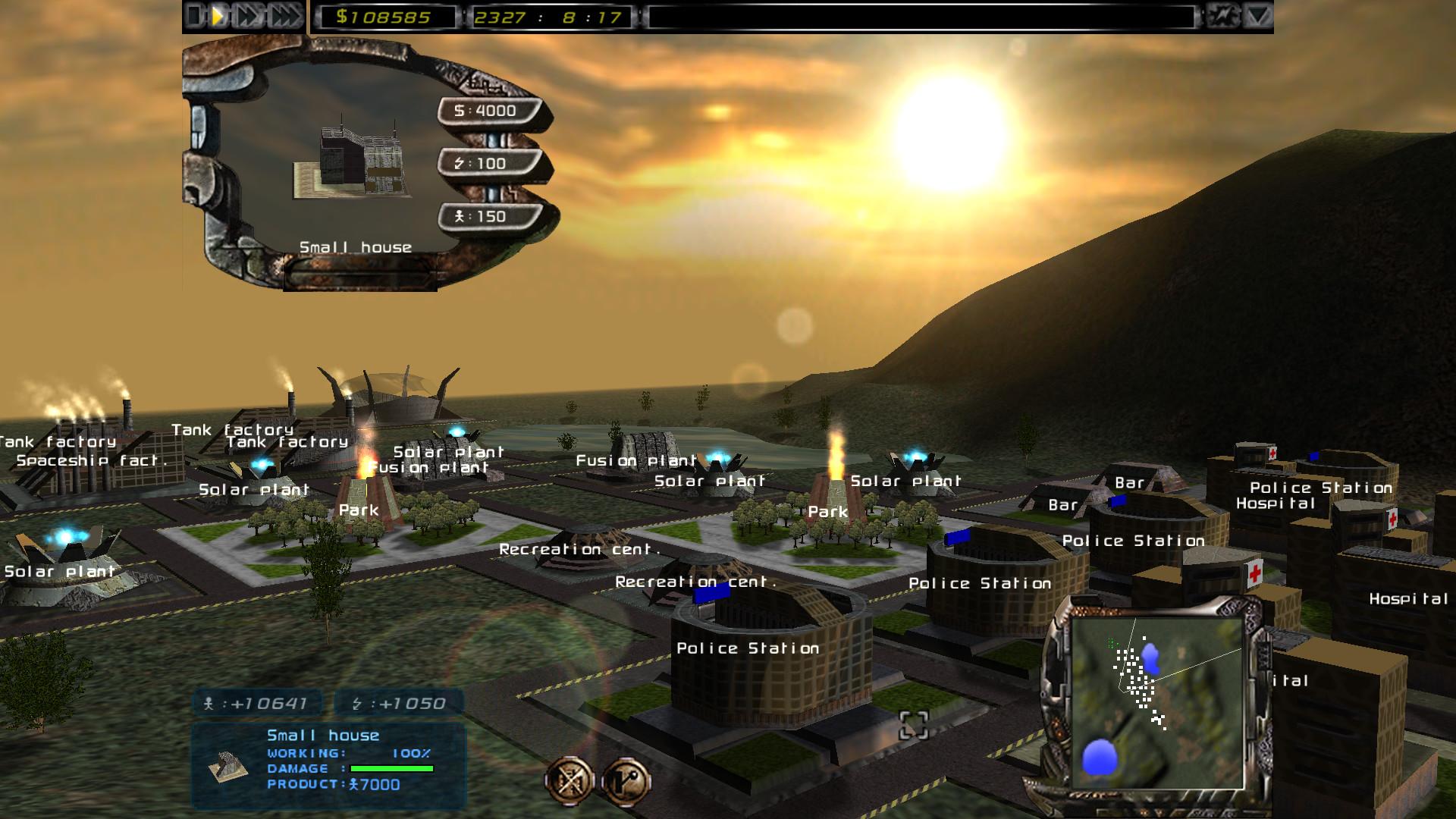 Imperium Galactica II screenshot