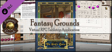 Fantasy Grounds - Trail of the apprentice: The King's Curse