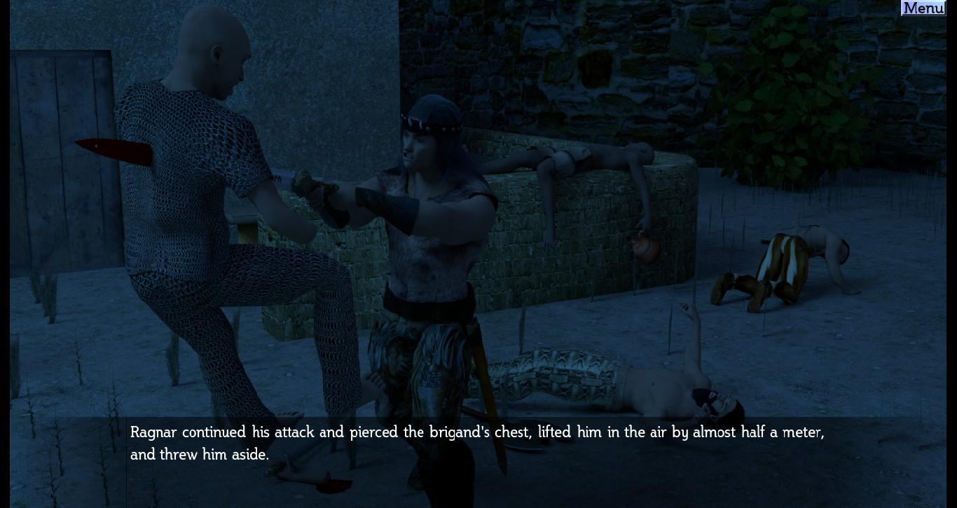 The Barbarian and the Subterranean Caves screenshot