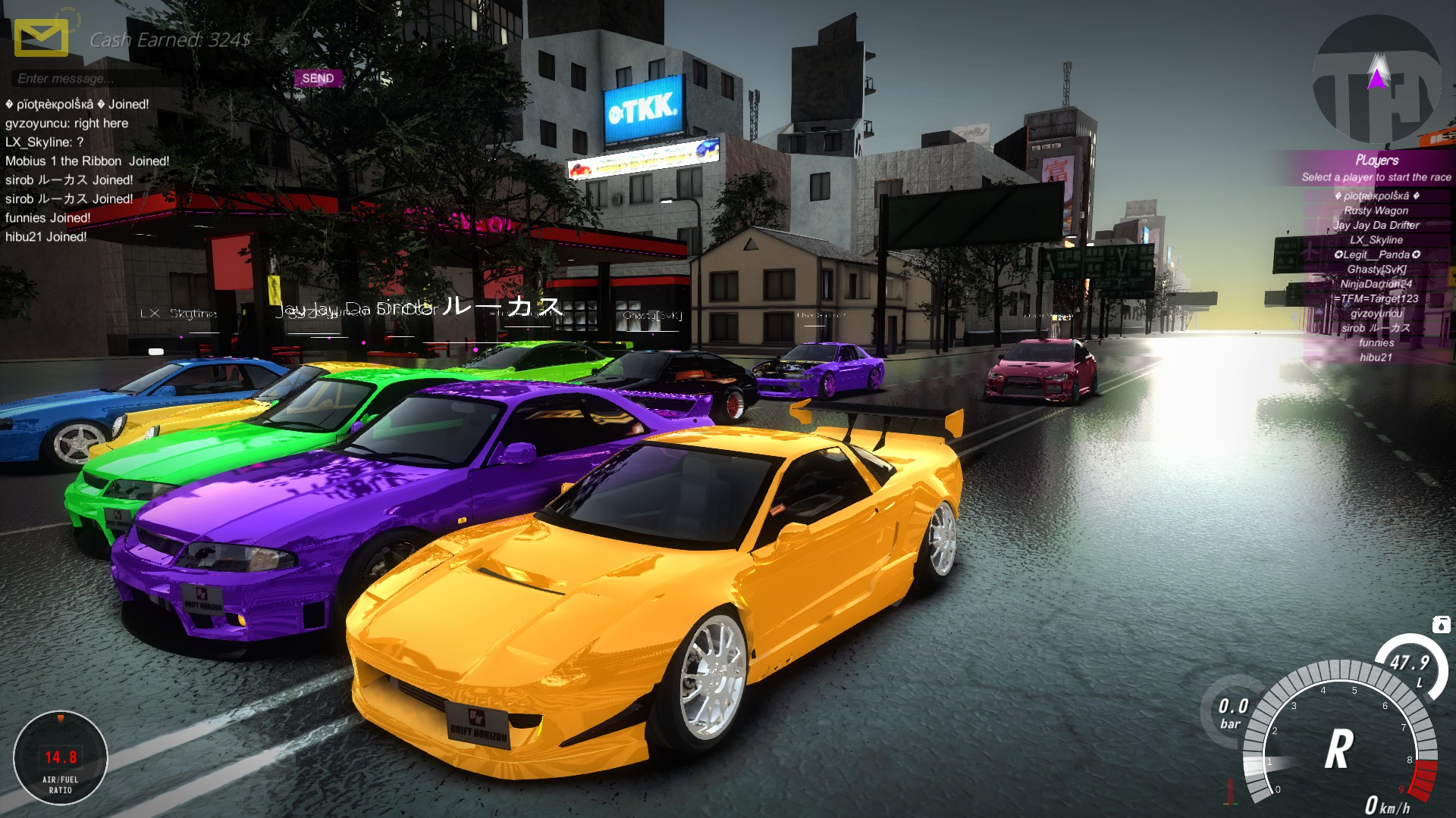City Car Racing Games D