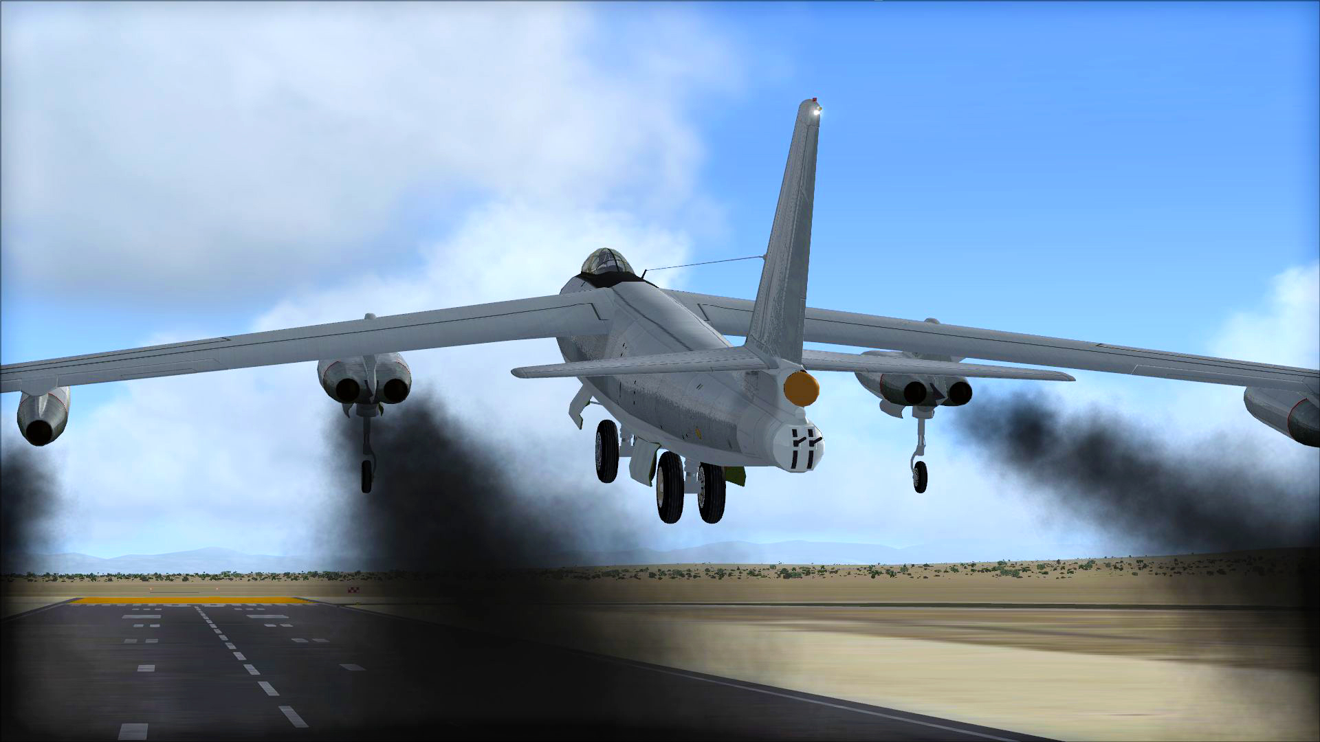 FSX Steam Edition: B-47 Stratojet Add-On screenshot