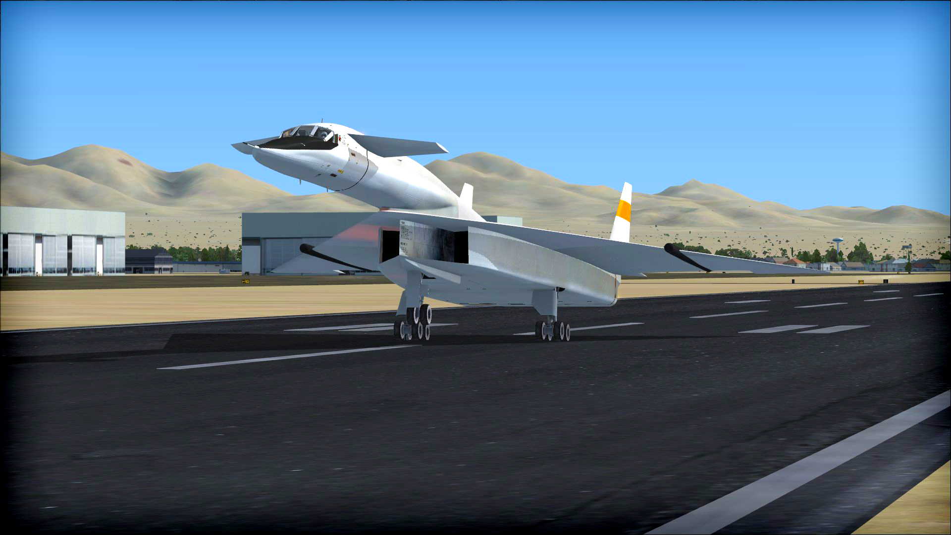 FSX Steam Edition: North American XB-70 Valkyrie Add-On screenshot