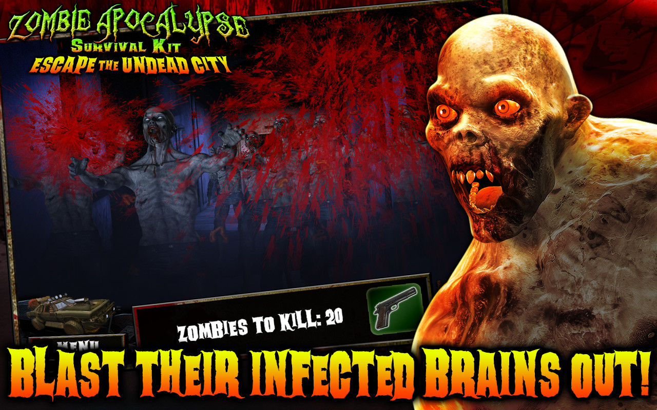 Zombie Apocalypse: Escape The Undead City screenshot