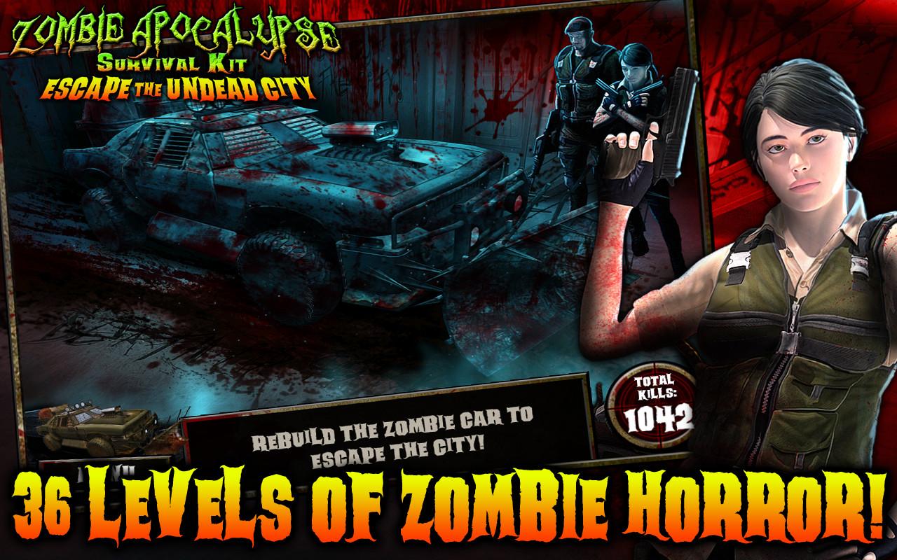 Zombie Apocalypse: Escape The Undead City screenshot
