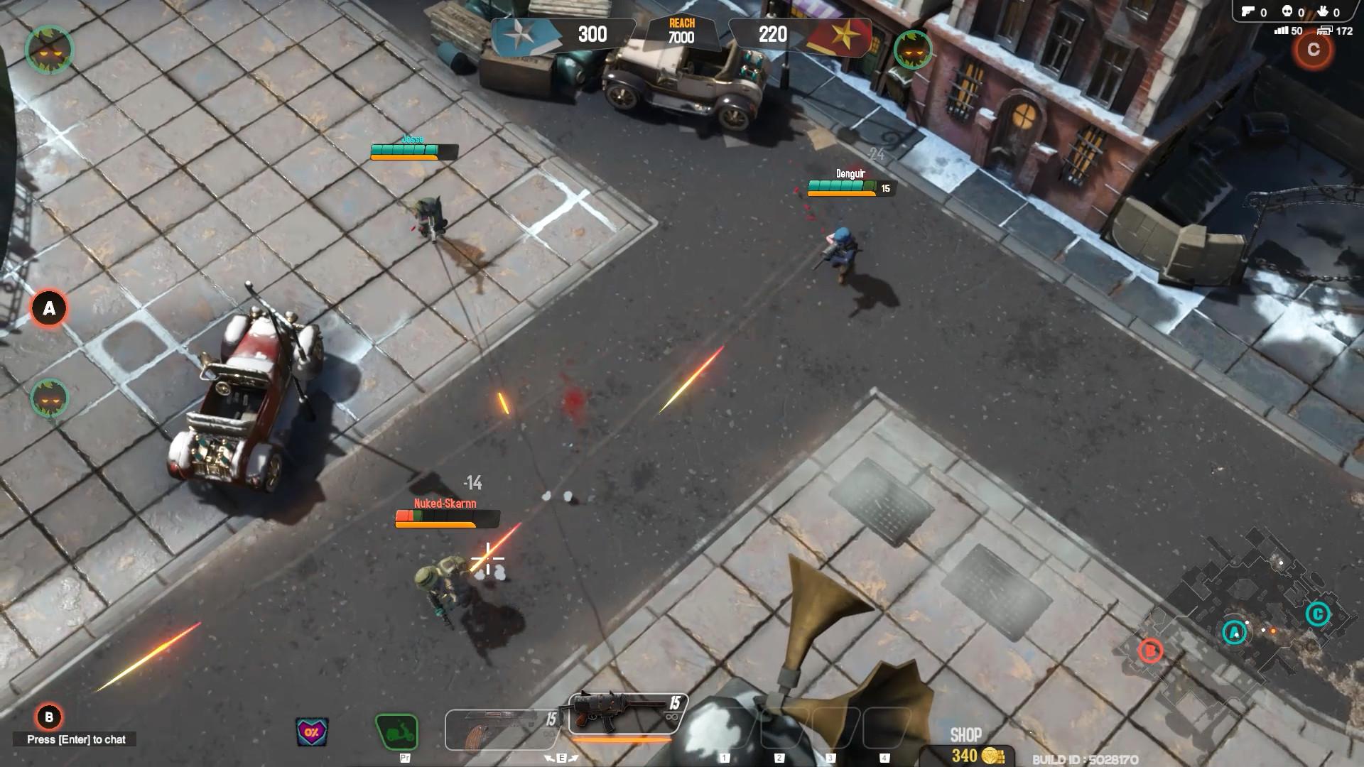 Veterans Online screenshot