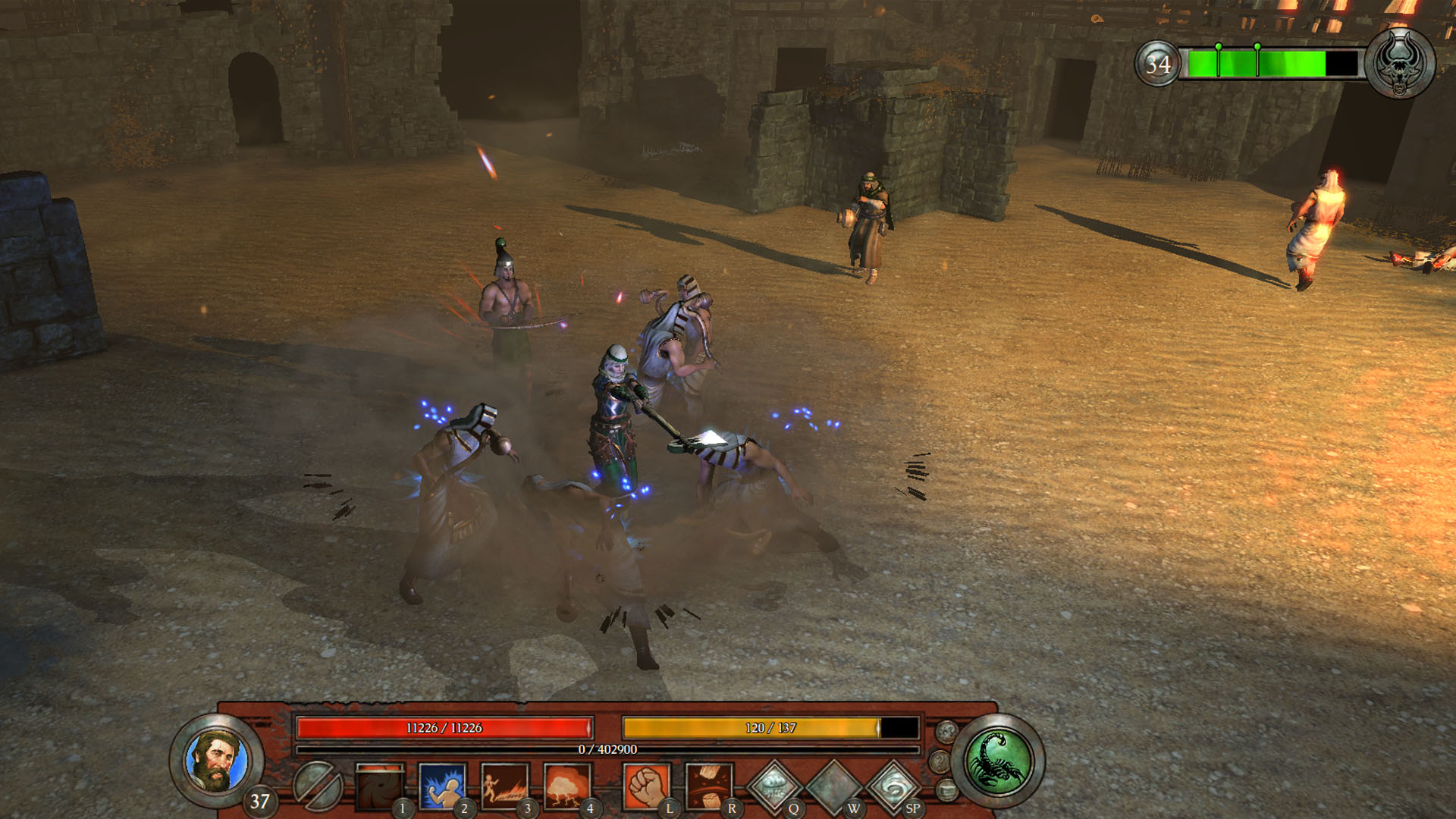 FIVE: Champions of Canaan Screenshot 2