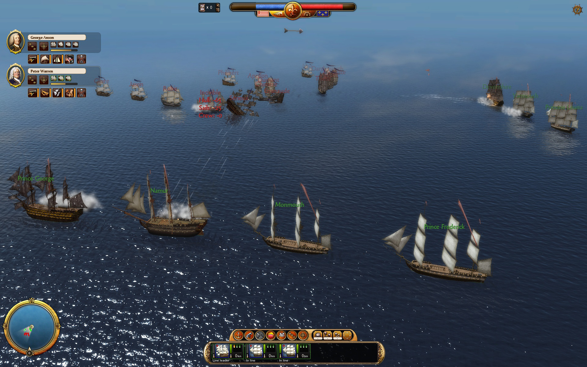 Commander: Conquest of the Americas - Colonial Navy screenshot