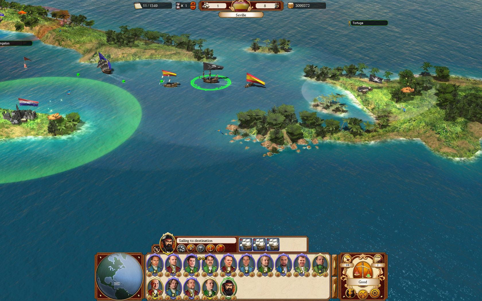 Commander: Conquest of the Americas - Pirate Treasure Chest screenshot