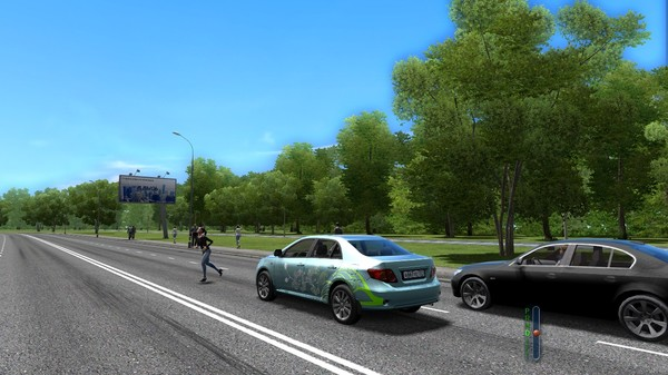 City Car Driving-PLAZA