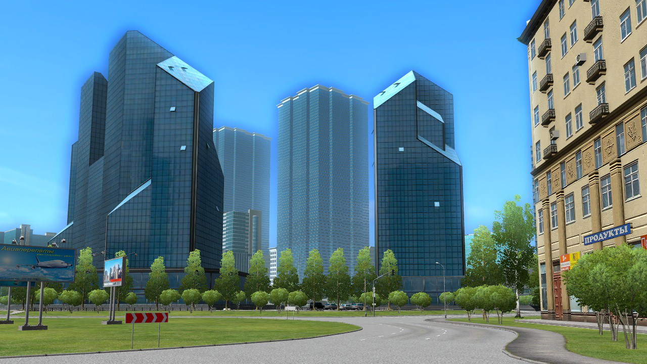 VRゲーム、City Car Driving、ゲームイメージ