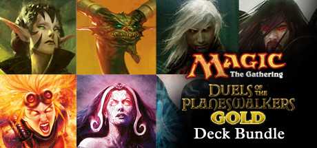 Duels of the Planeswalkers Gold Deck Bundle