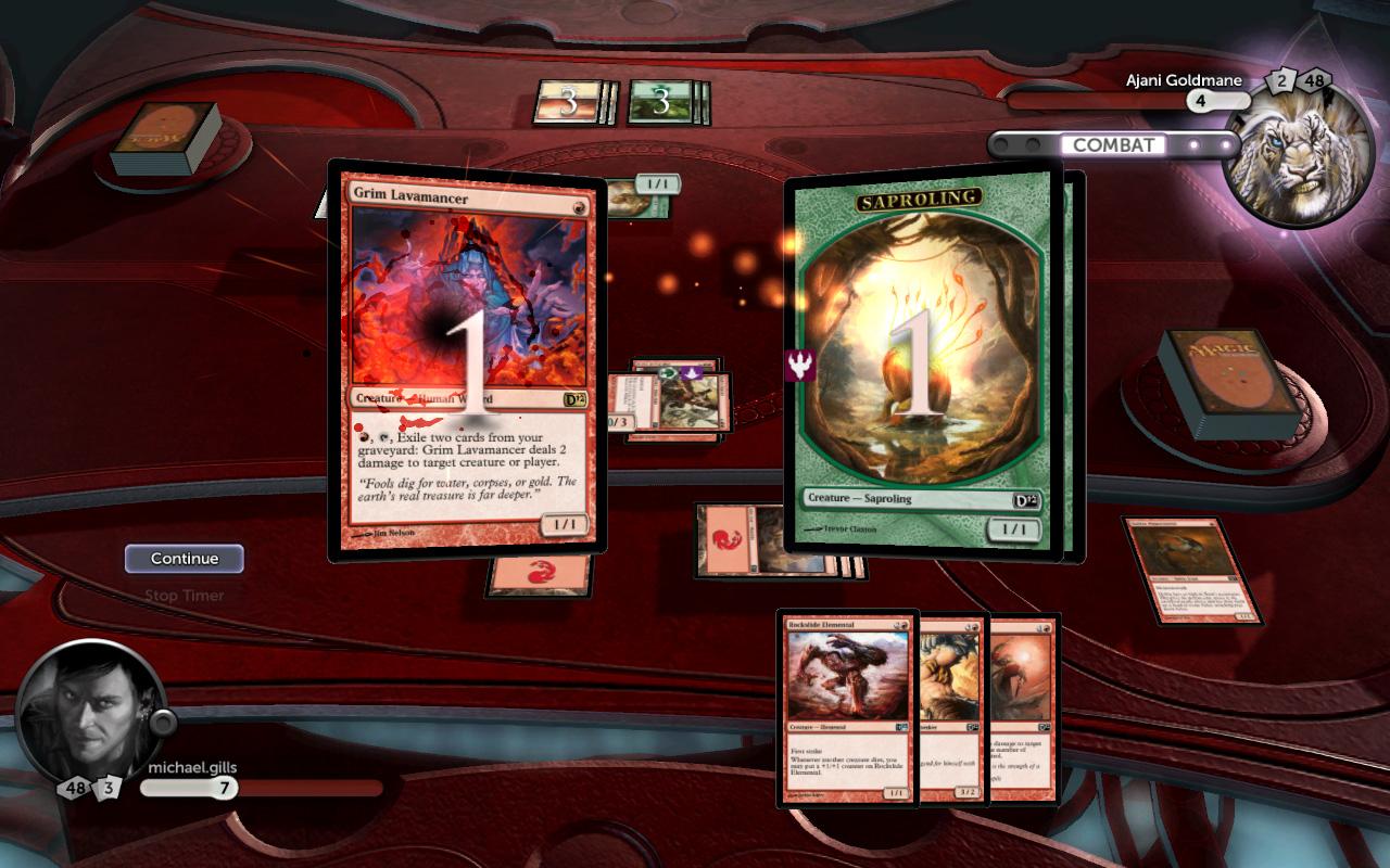 Magic: The Gathering 2012 - Expansion  screenshot