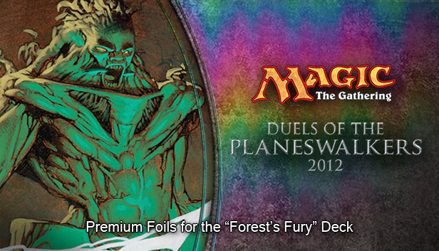 "Magic 2012 Foil Conversion ""Forest's Fury"" screenshot"