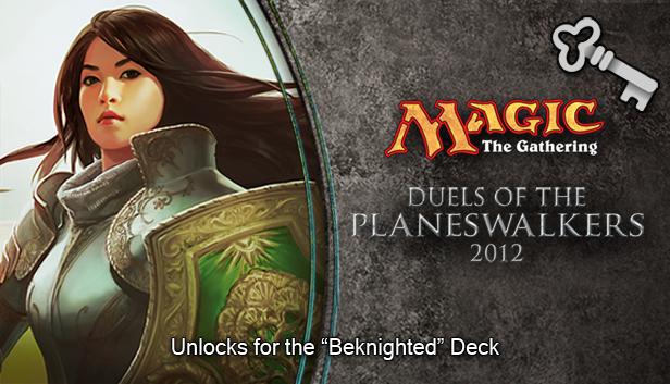"Magic 2012 Full Deck ""Beknighted""   screenshot"