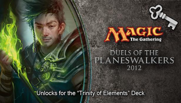 "Magic 2012 Full Deck ""Trinity of Elements""  screenshot"