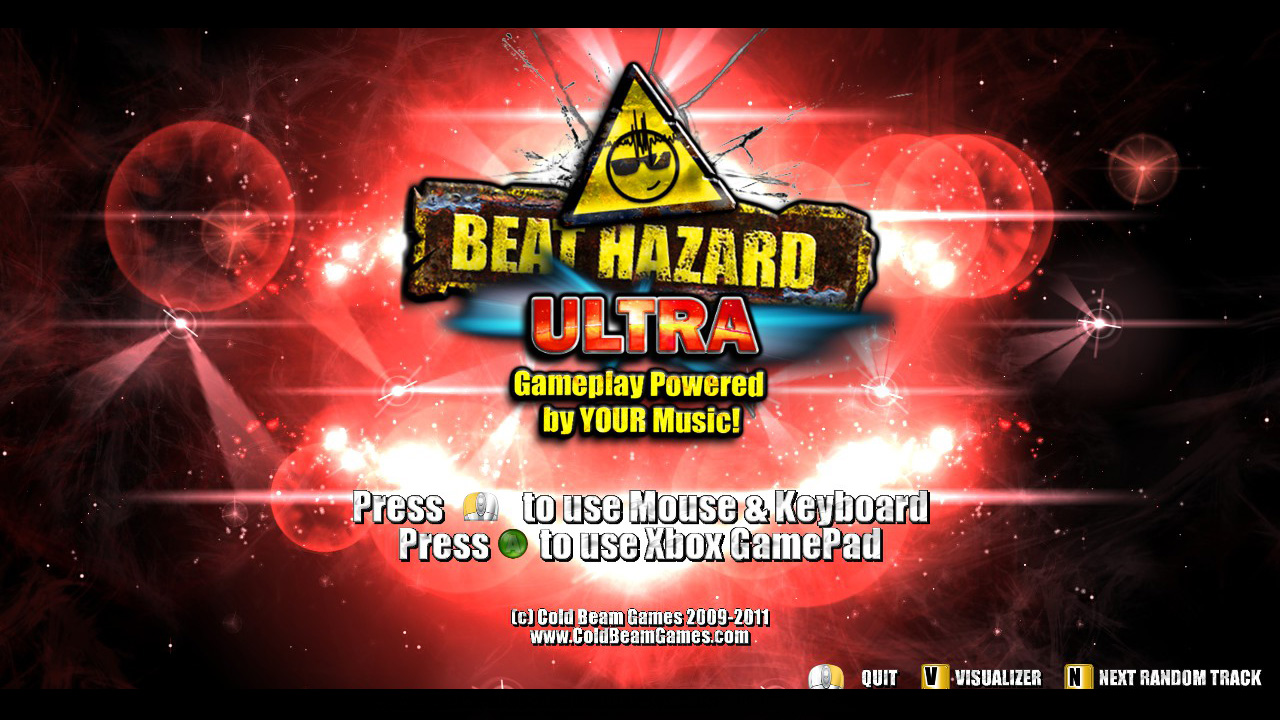 Beat Hazard Ultra screenshot