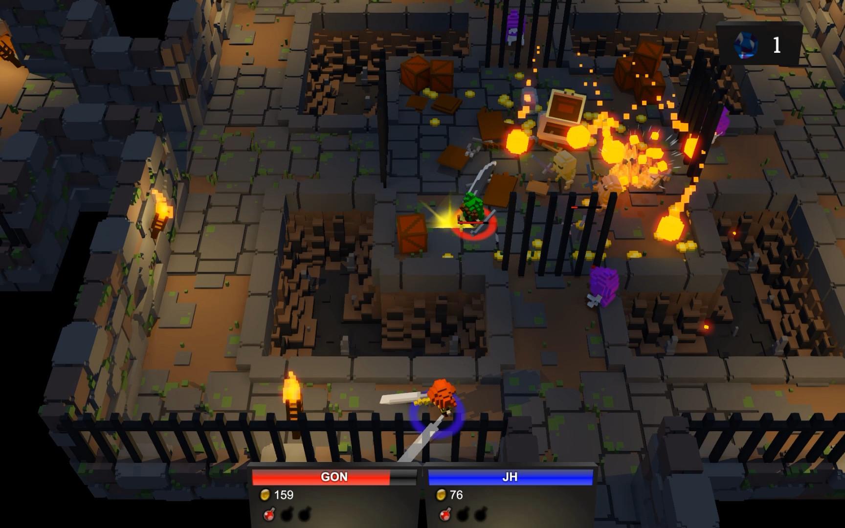 Deep Dark Dungeon screenshot