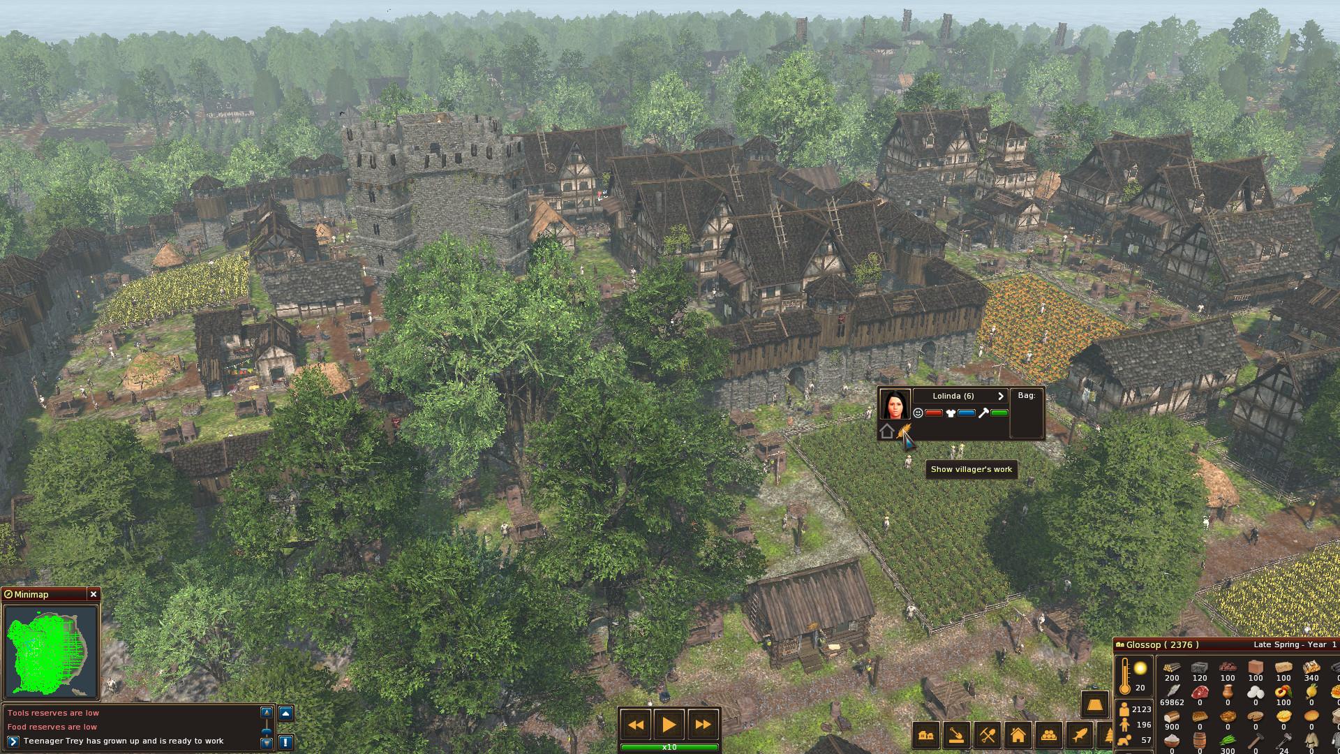 Life is feudal village я ученик ролевая игра