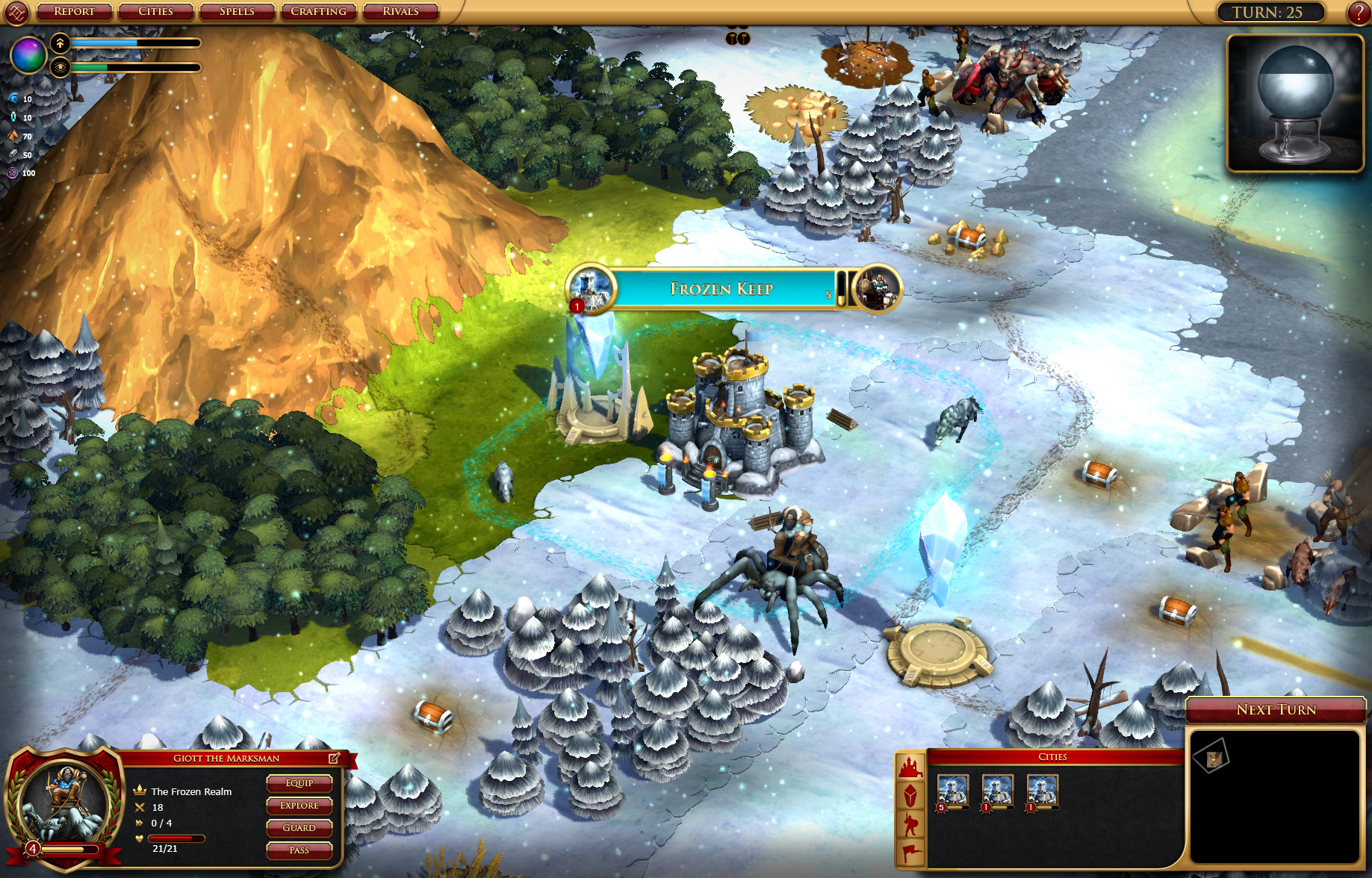 Sorcerer King: Rivals screenshot