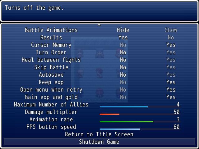 Crimson Sword Saga: The Peloran Wars screenshot