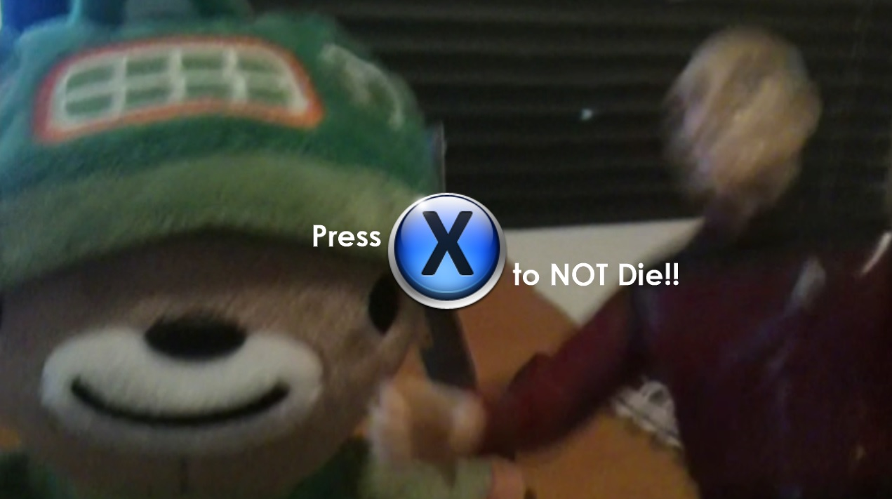 Press X to Not Die - Special Edition Content screenshot