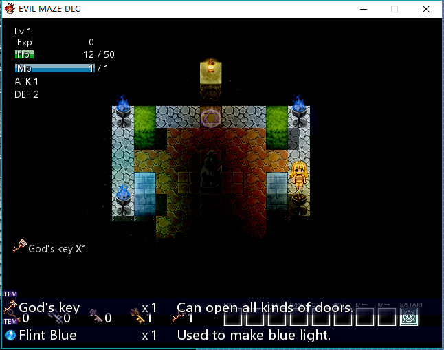 Evil Maze Game Gallery DLC screenshot