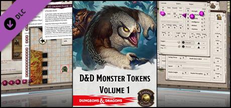 Fantasy Grounds - D&D Tokens Volume 1