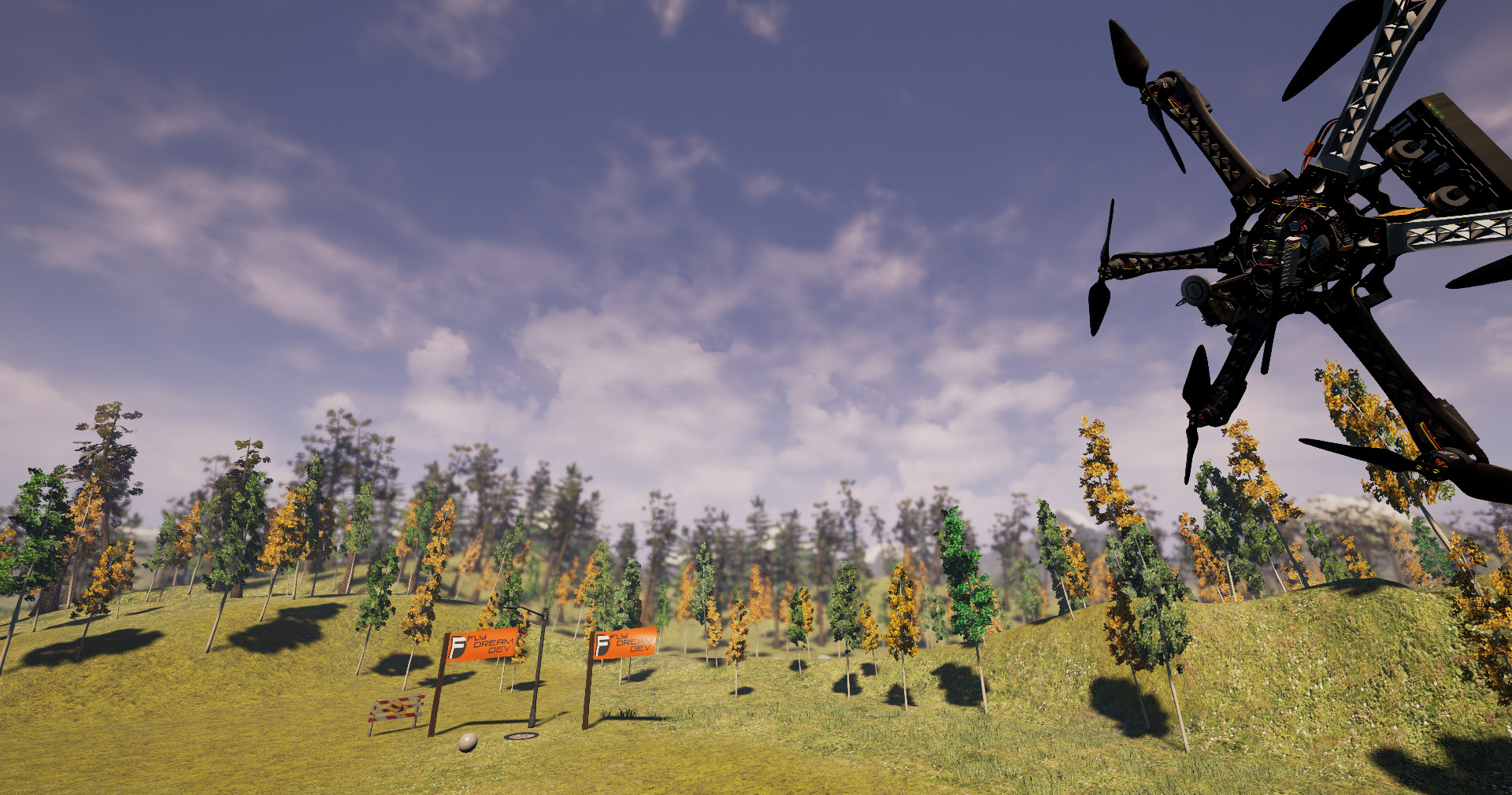 Copter and Sky screenshot