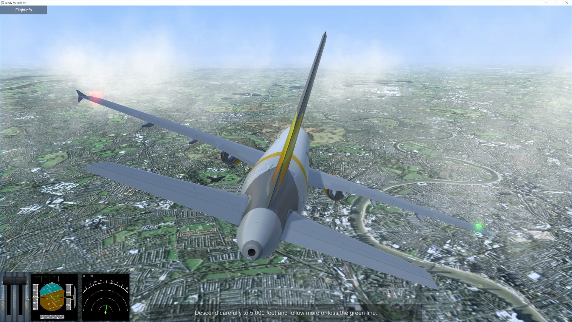 Ready for Take off - A320 Simulator Screenshot 3