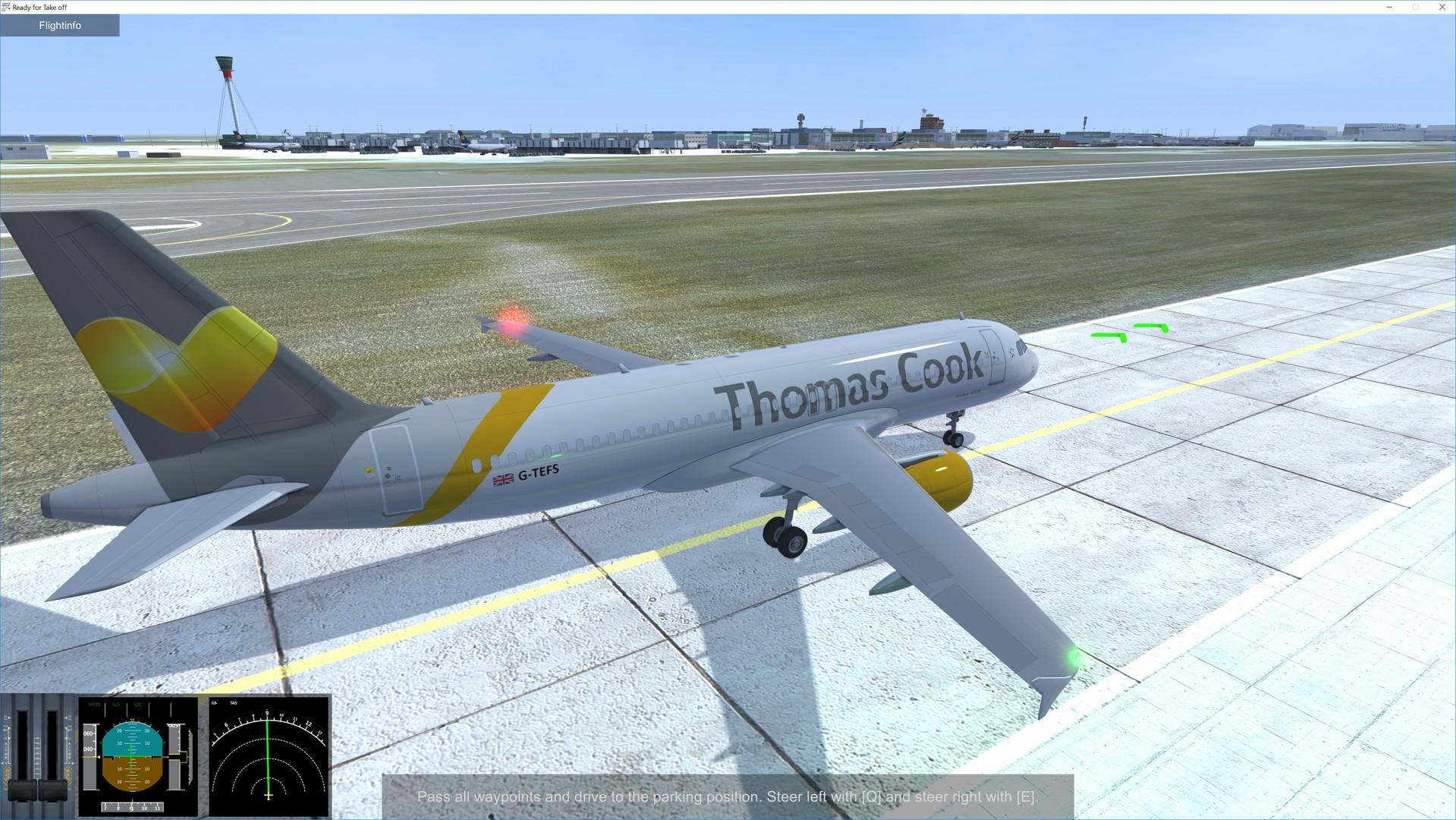 Ready for Take off - A320 Simulator Screenshot 1