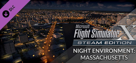 FSX Steam Edition: Night Environment: Massachusetts Add-On