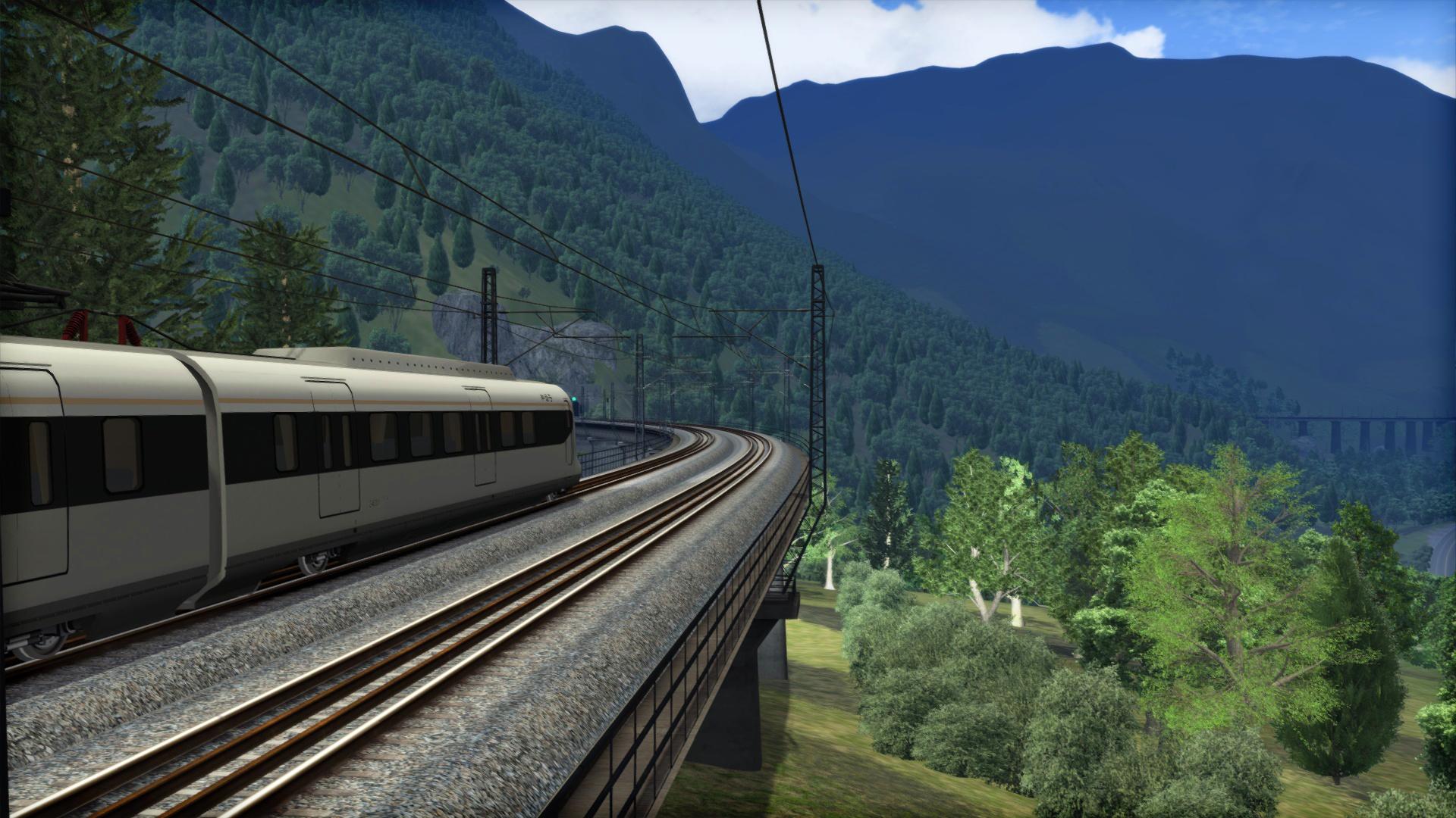 Train Simulator: Western Sichuan Pass: Dujiangyan - Maoxian & Mashancun Route Add-On screenshot