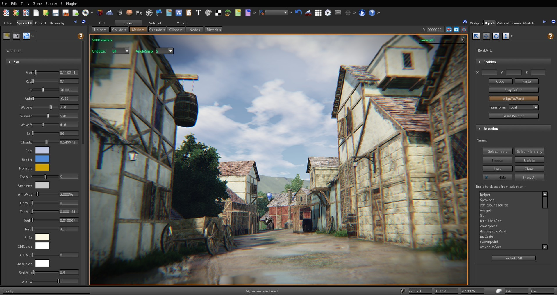 S2ENGINE HD - Medieval Town Pack screenshot