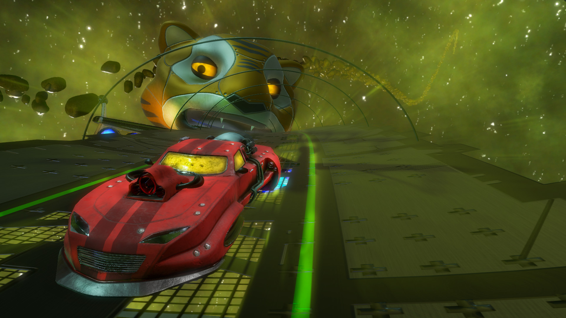 Space Ribbon - Slipstream to the Extreme screenshot