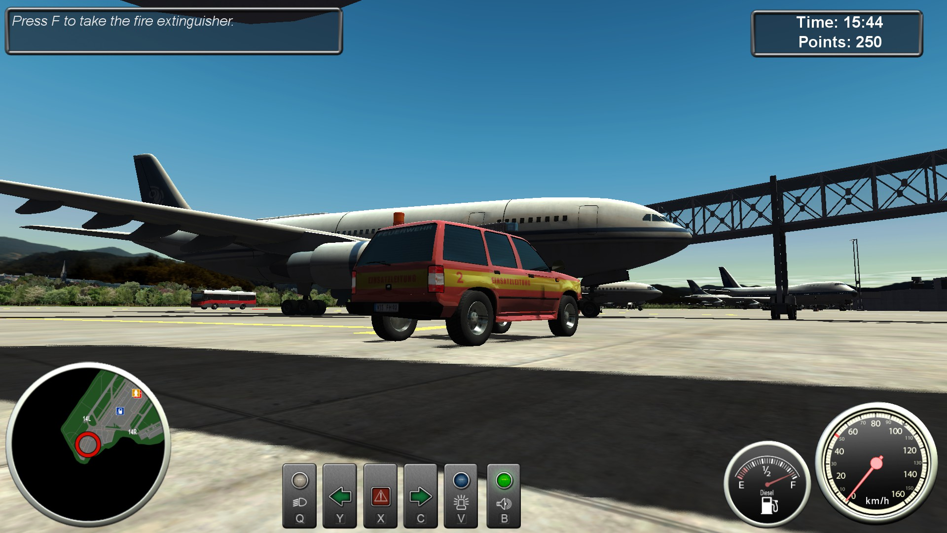 Airport Fire Department - The Simulation screenshot