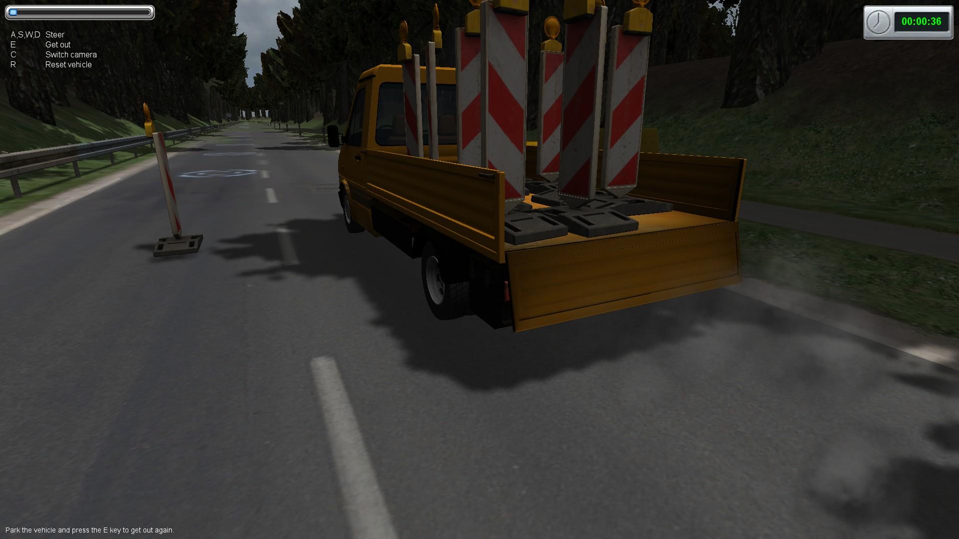 Roadworks - The Simulation screenshot