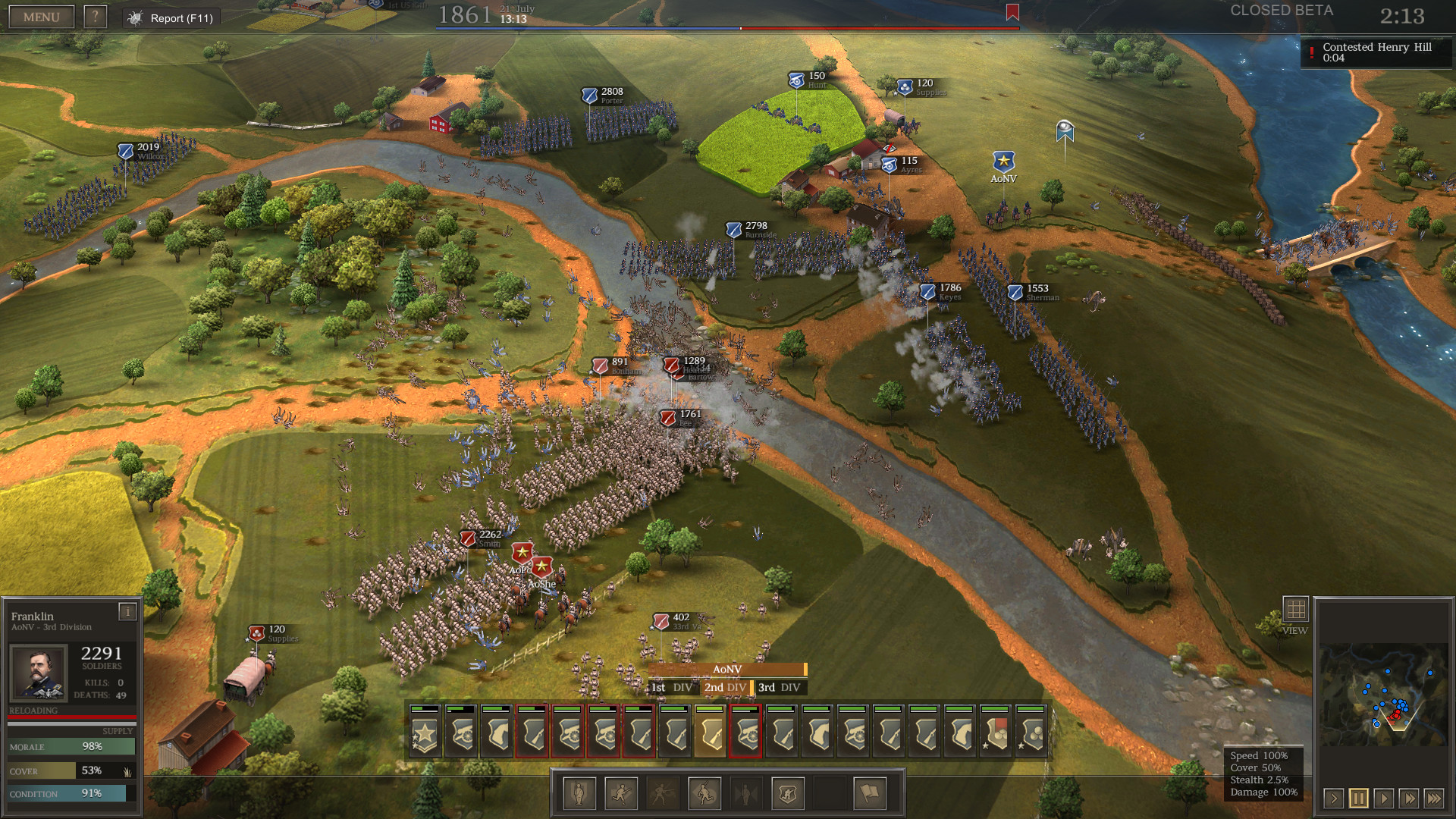 Ultimate General: Civil War screenshot 2