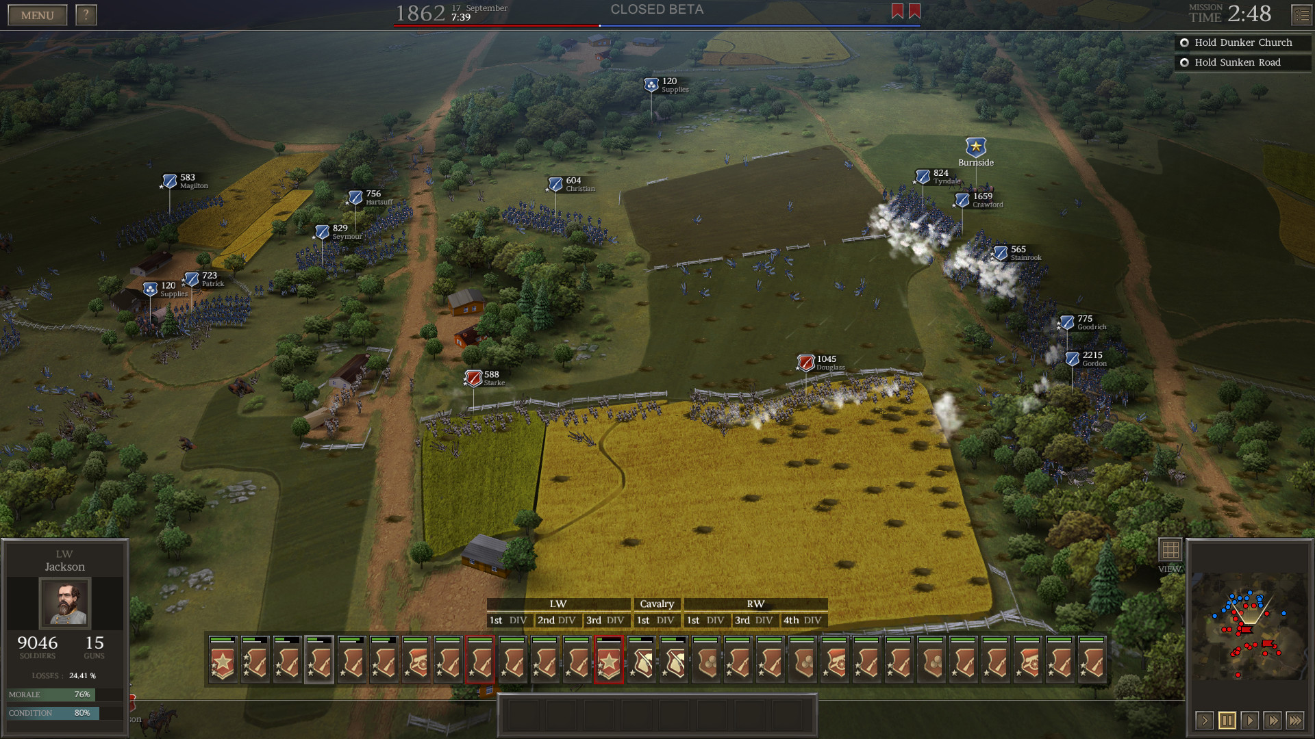 Ultimate General: Civil War screenshot 1