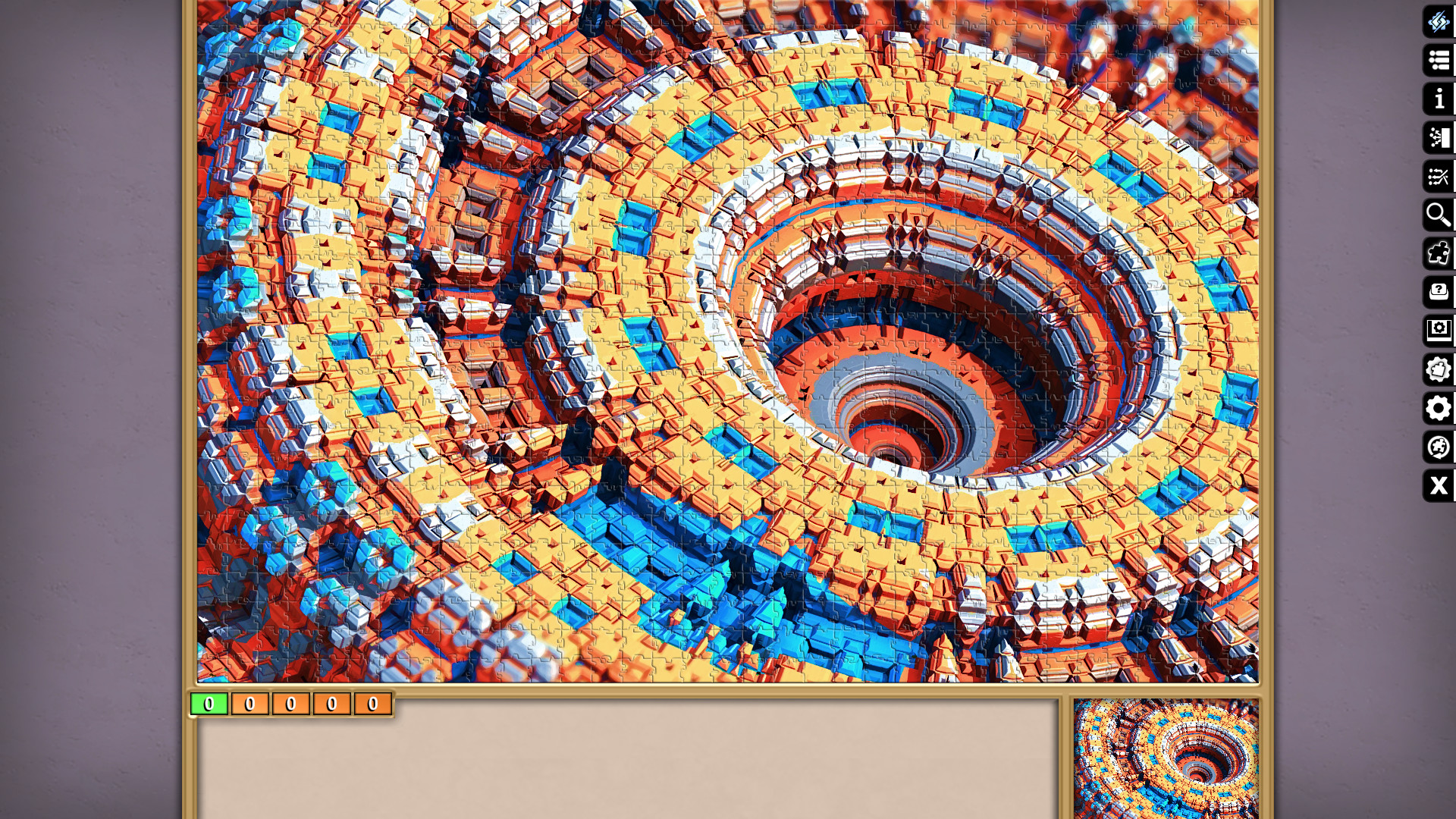 Jigsaw Puzzle Pack - Pixel Puzzles Ultimate: Fractals screenshot