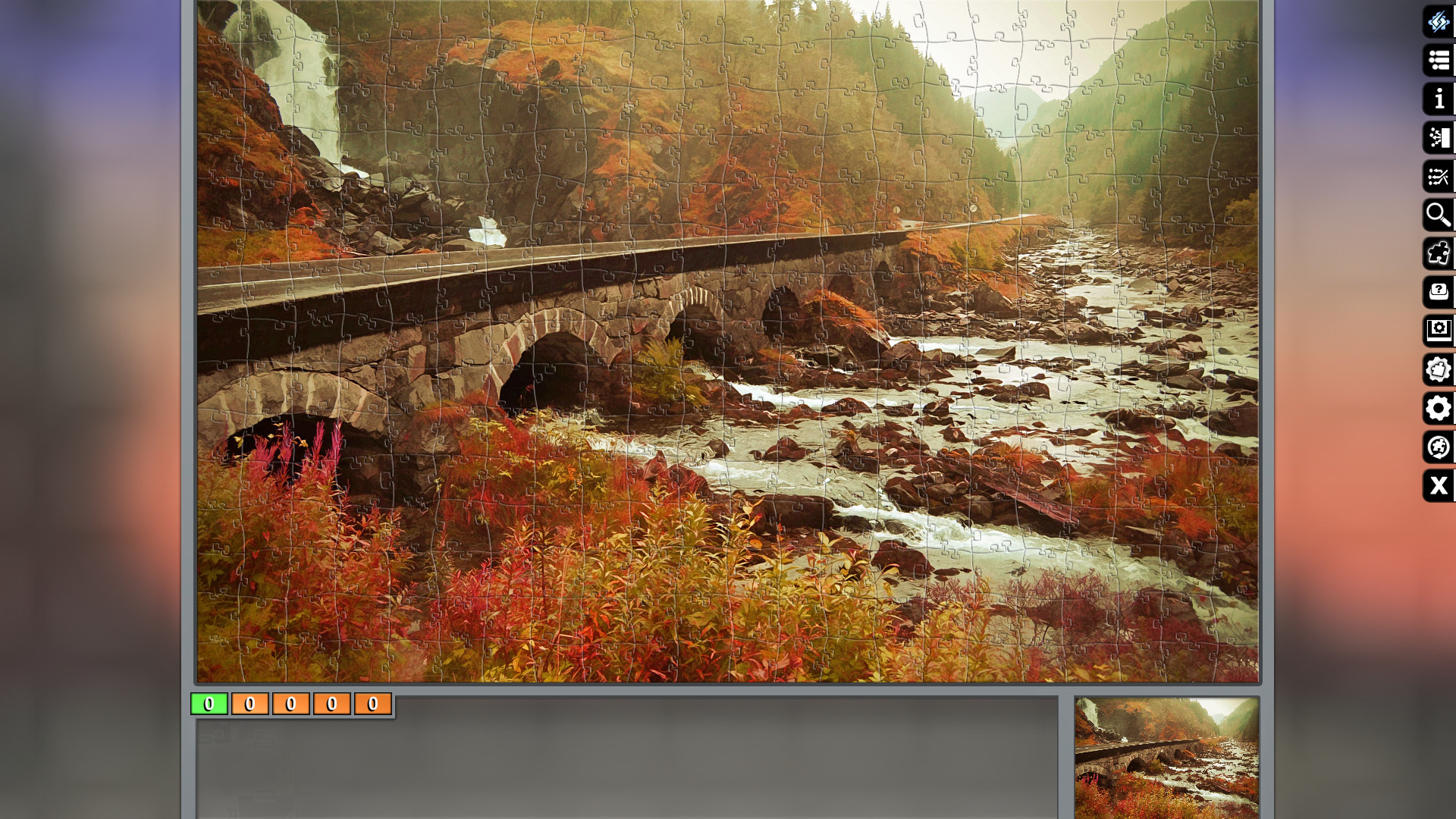 Jigsaw Puzzle Pack - Pixel Puzzles Ultimate: Autumn screenshot