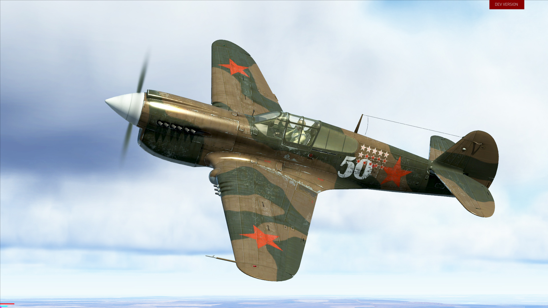 IL-2 Sturmovik: P-40E-1 Collector Plane screenshot