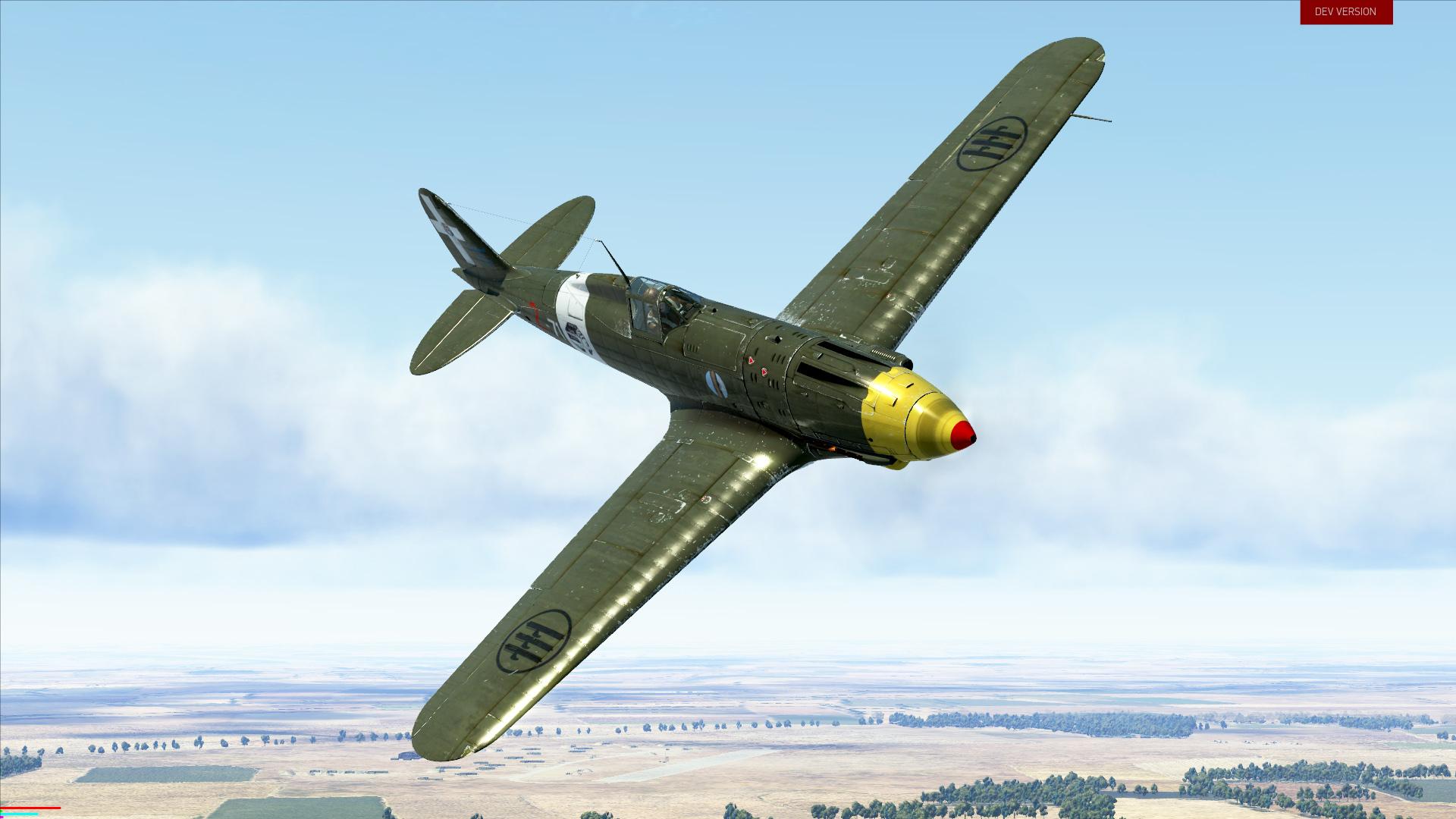 IL-2 Sturmovik: MC.202 Series VIII Collector Plane screenshot
