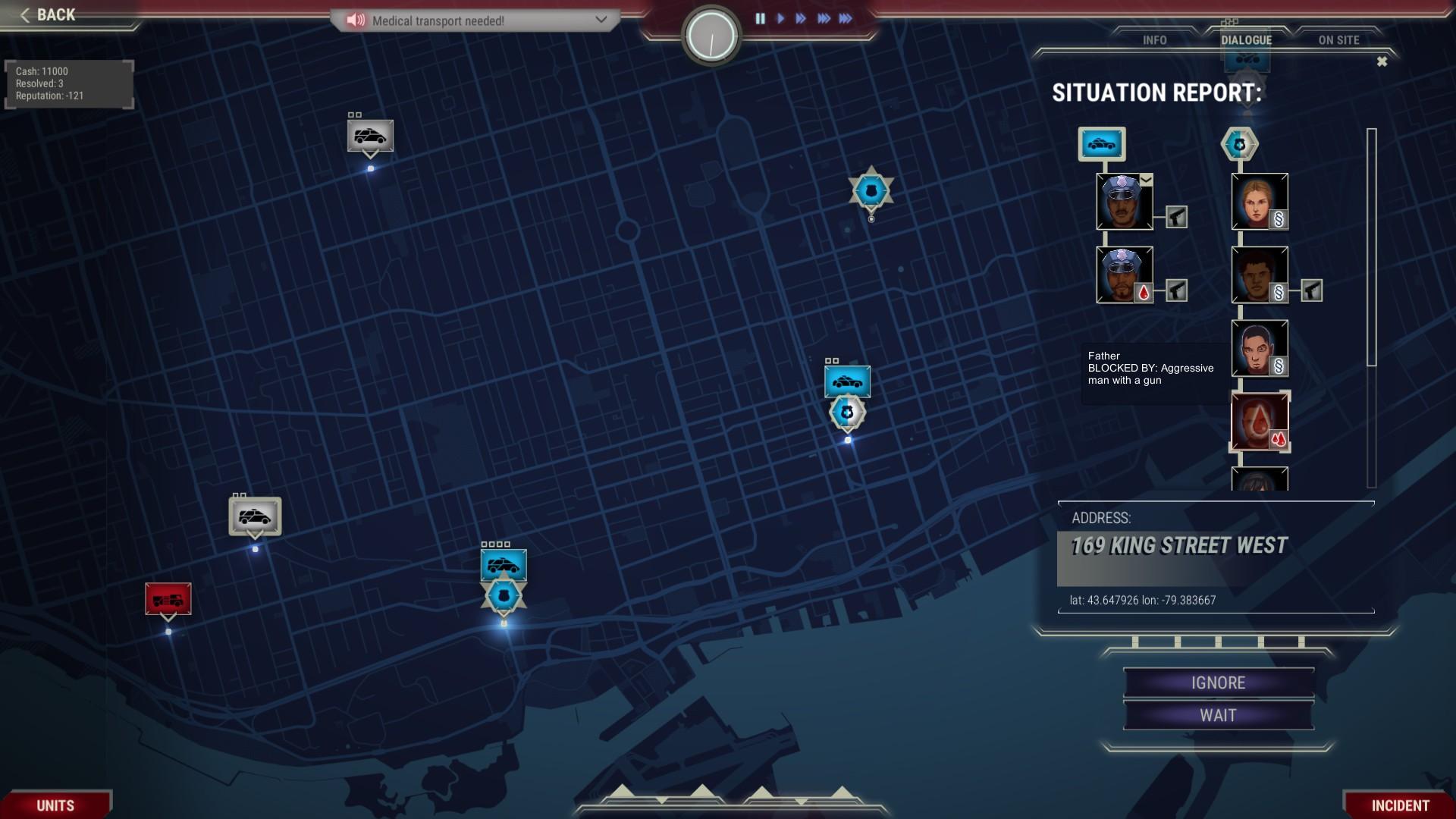 911 Operator screenshot
