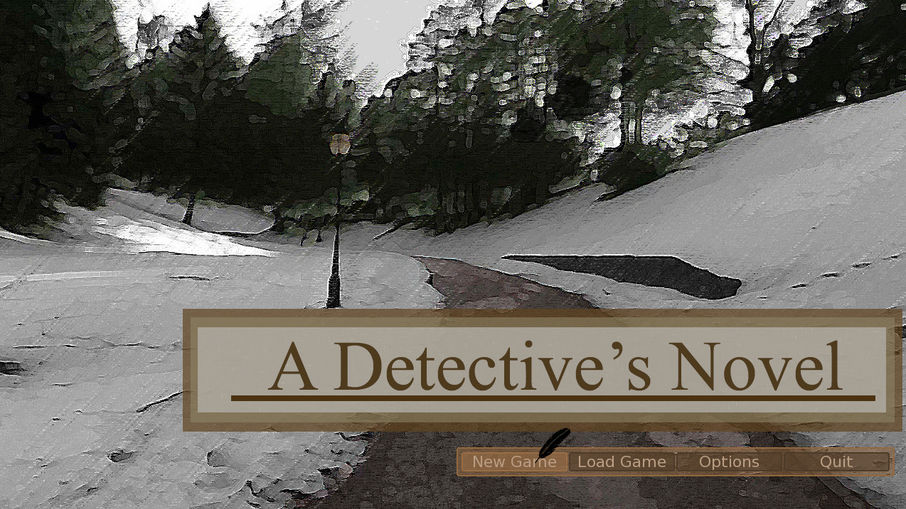A Detective's Novel screenshot